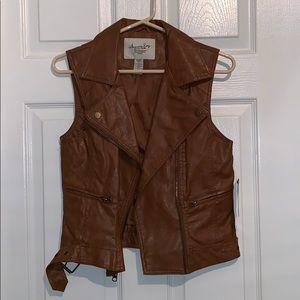 American Rag Leather Vest